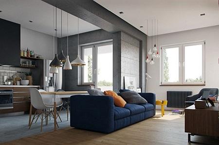 Варианты перепланировки однокомнатной квартиры: наиболее популярные способы